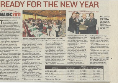 JULIE WONG READY FOR THE NEW YEAR ARTICLE
