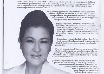 JULIE WONG IN TOP 1O MAGAZINE