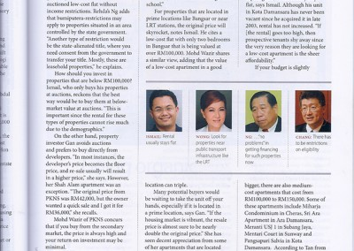 JULIE WONG IN PERSONAL MONEY MARCH 2010