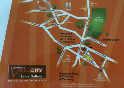 Sunway Velocity - Jalan Cheras Map2